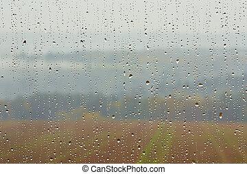 chuva, pesado