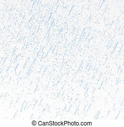 chuvoso, céu, ilustração