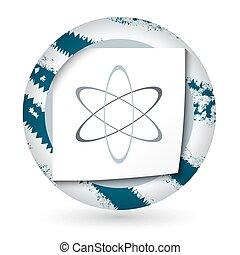 ciência, abstratos, papel, símbolo, ícone