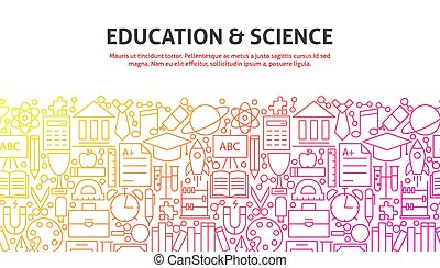 ciência, conceito, educação, &