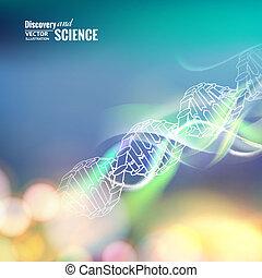 ciência, conceito, image.