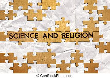 ciência, e, religião