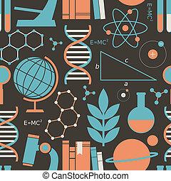 ciência, fundo