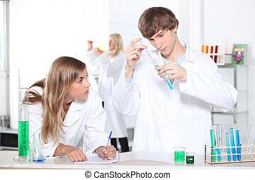 ciência, lição
