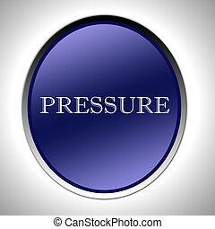ciśnienie, ikona
