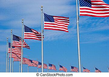 ci, bandiere