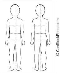 ciało, pomiary, dziecięcy