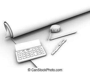 cianotipo, herramientas, plan