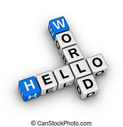 ciao, mondo
