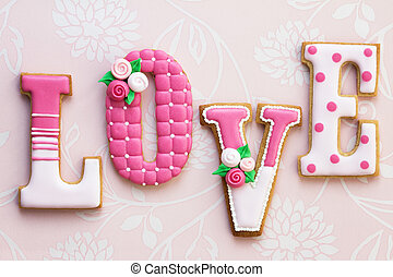 ciasteczka, miłość