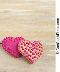 ciasteczka, valentine