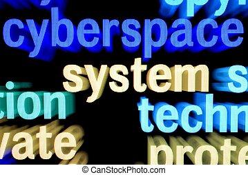 ciberespaço, sistema