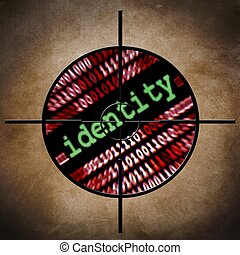 cible, identité