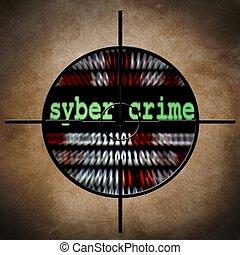 cible, syber, crime