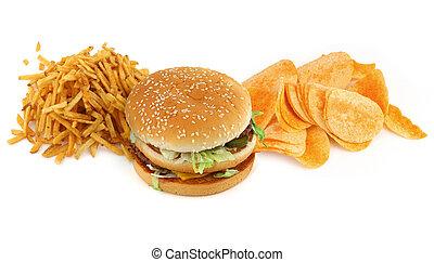 cibo, #2, malsano, composizione