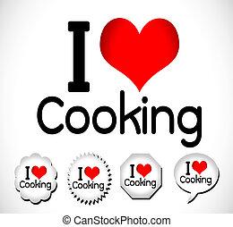 cibo, amore, idea