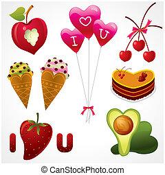cibo, amore