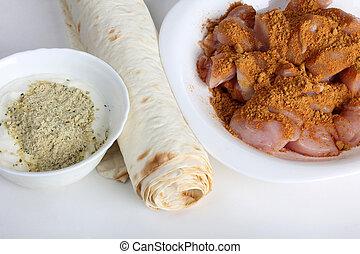 cibo, arabo, cinque