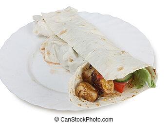 cibo, arabo, due