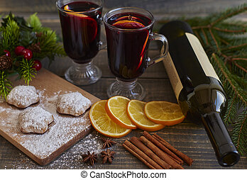 cibo, bevanda, Natale, speciale