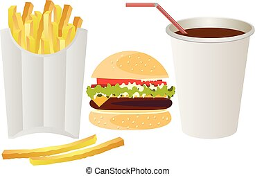 cibo, bianco, digiuno, fondo