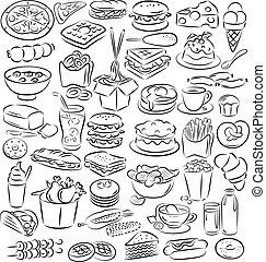 cibo, bibite