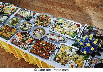 cibo, buffet
