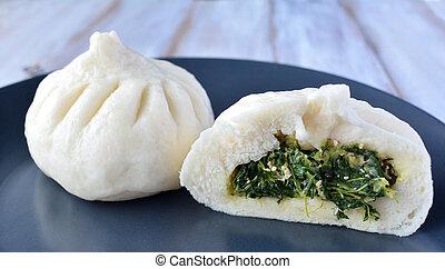 cibo cinese, specialità, gnocco