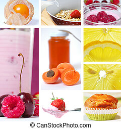 cibo,  collage