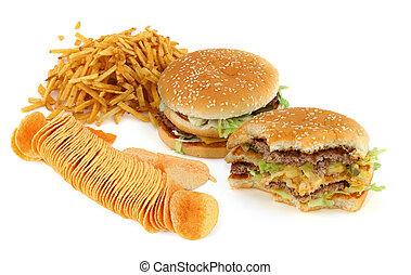 cibo, composizione, malsano