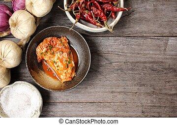 cibo, coreano, kimchi