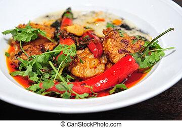 cibo, cucina, -, ristorante