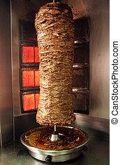 cibo, cucina, shawarma, -