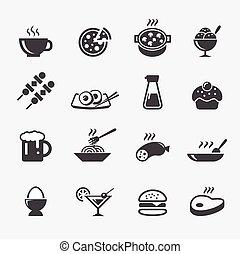 cibo, icona