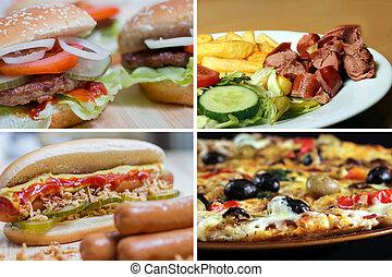 cibo, immagine, digiuno, collezione