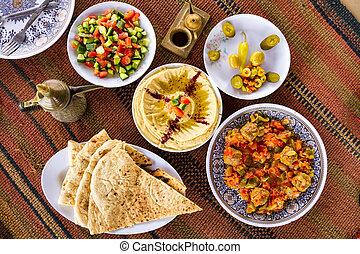 cibo, mediorientale