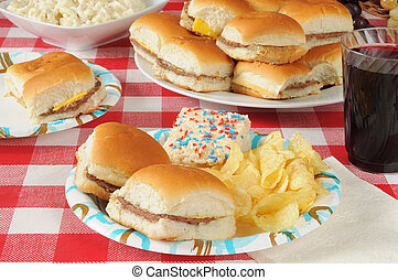 cibo, picnic