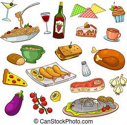 cibo, ristorante
