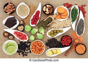 cibo, salute
