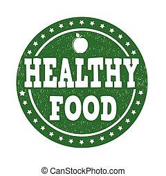 cibo sano, francobollo