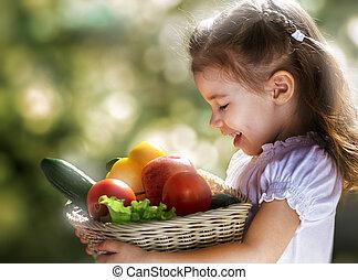 cibo sano, mangiare