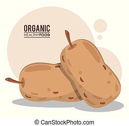 cibo sano, organico, nutrizione