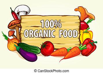 cibo sano, organico