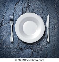 cibo, strada