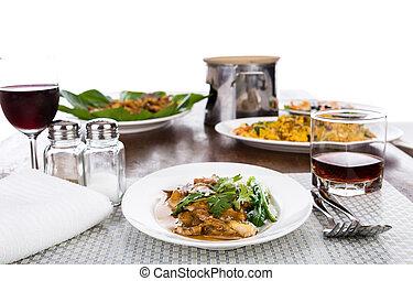 cibo, tavola