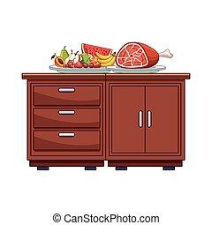 cibo, tavola, cucina