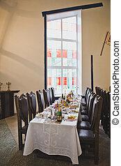 cibo, tavola, decorazioni festa, 5029.