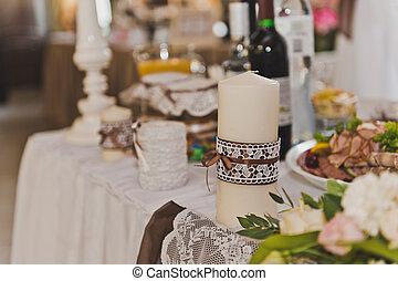 cibo, tavola, decorazioni festa, 5201.