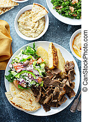 cibo, tavola, mediterraneo