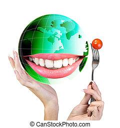 cibo, Vegetariano